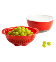 OXO 3-Piece Berry Bowl & Colander Set