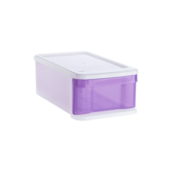 Small Tint Stackable Drawer The Container Store
