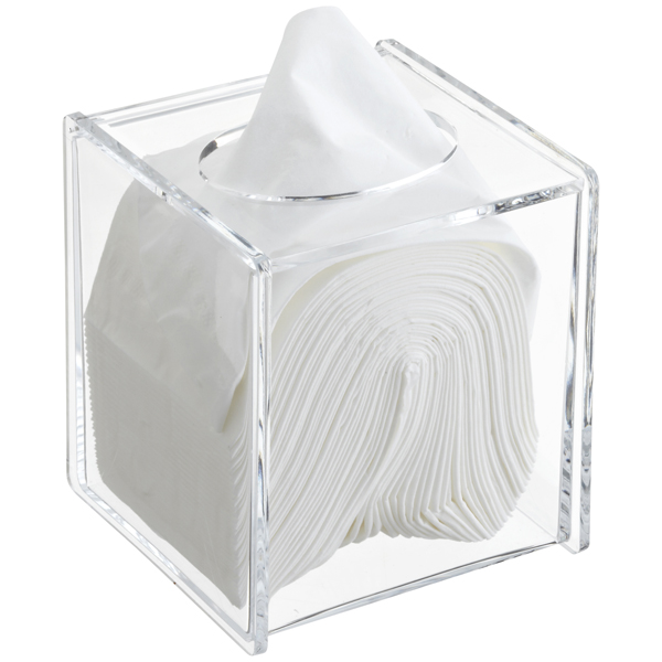 Acrylic Tissue Box ...  sc 1 st  The Container Store & Acrylic Hinged-Lid Boutique Tissue Box | The Container Store Aboutintivar.Com