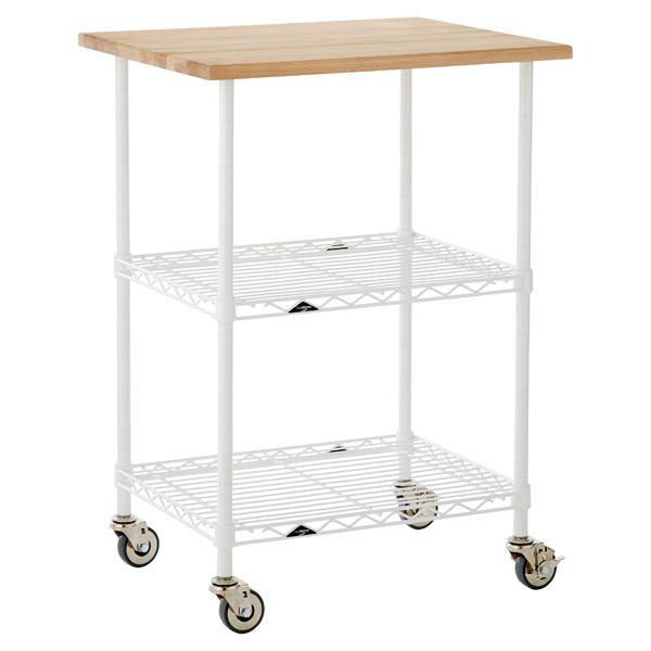 InterMetro Chef's Cart White