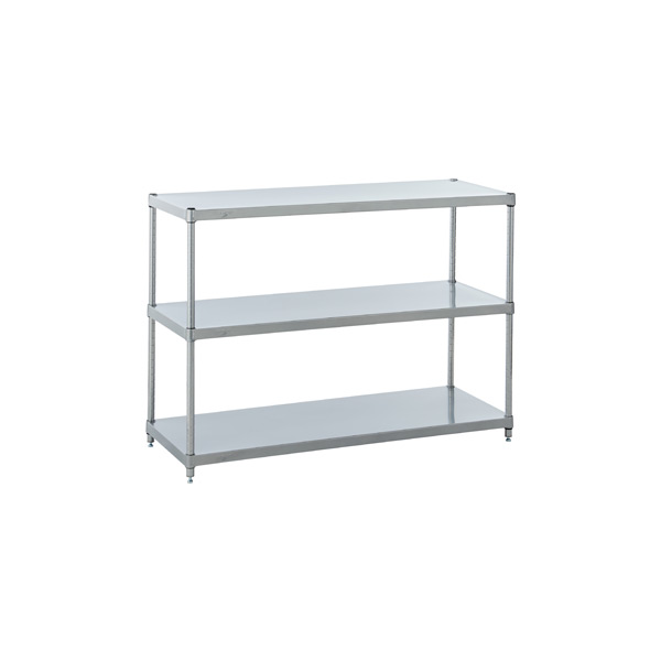 Solid Shelving Silver