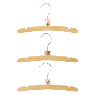 Infant Wooden Animal Hangers