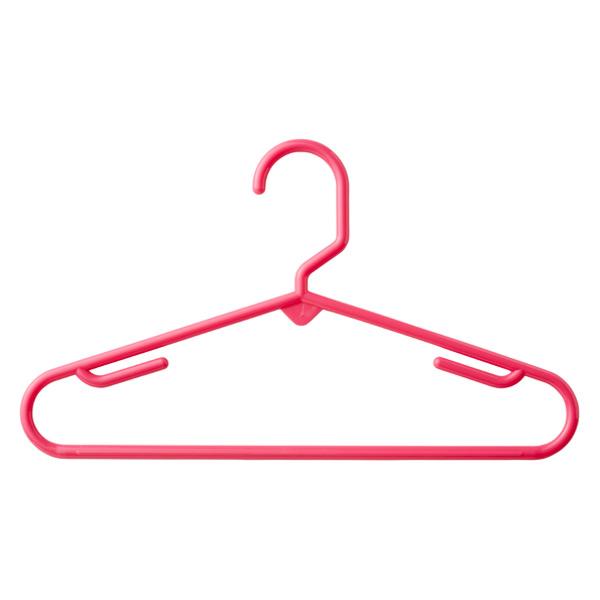 Children's Tubular Hanger Pink Pkg/5