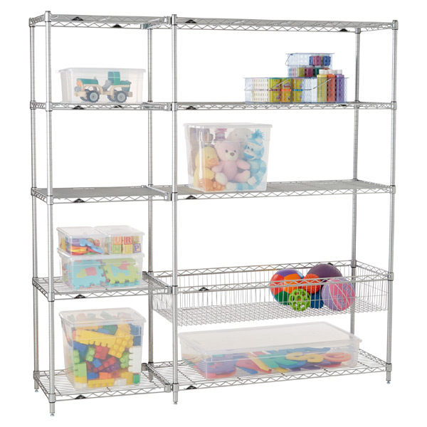 Playroom Shelving