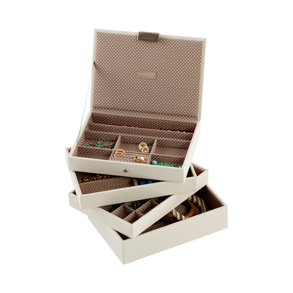 Vanilla Classic Stackers Premium Stackable Jewelry Box