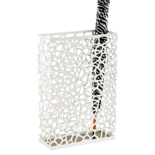 Yamazaki White Nest Umbrella Stand | The Container Store