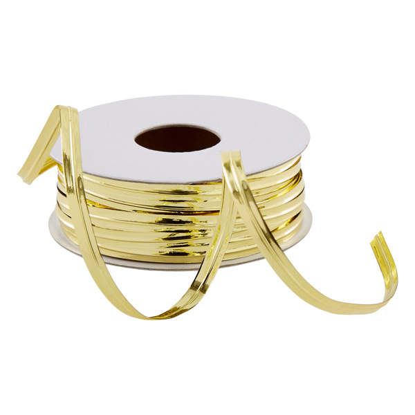 Gold Metallic Wire Ribbon