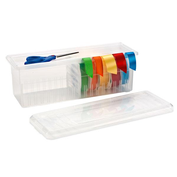 Ribbon Box Clear