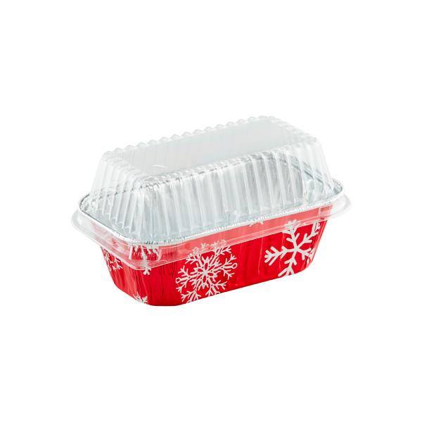 1 lb. Foil Mini Loaf Pans Pkg/4