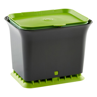 Full Circle Slate Odor-Free Compost Collector