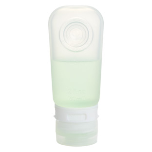 Clear 2 oz. Silicone GoToob Travel Bottle