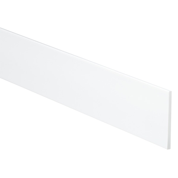 "2"" Custom Drawer Organizer Strips White Pkg/4"