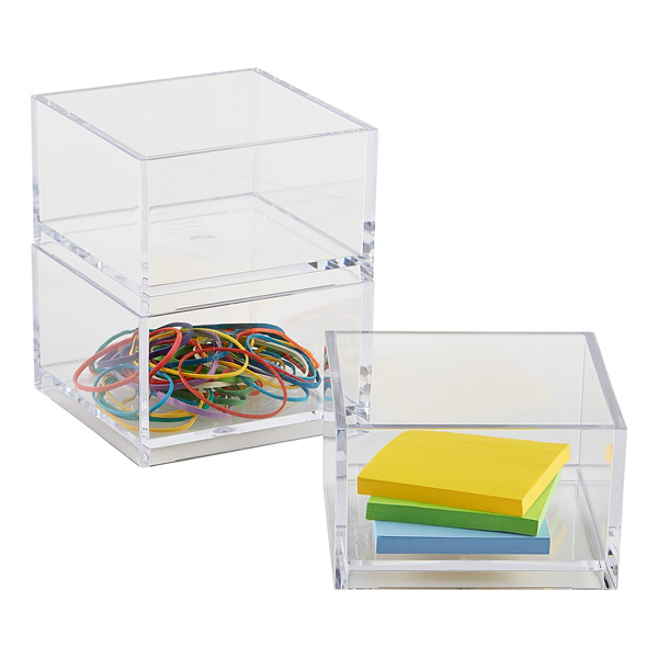 Clear Mini Stack Box