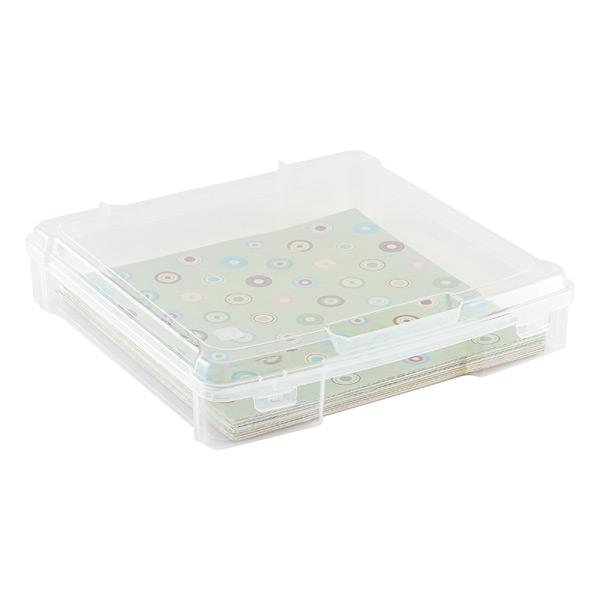 """12"""" x 12"""" Paper Storage Case"""