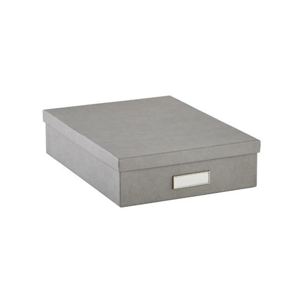 Bigso Stockholm Letter Box Grey