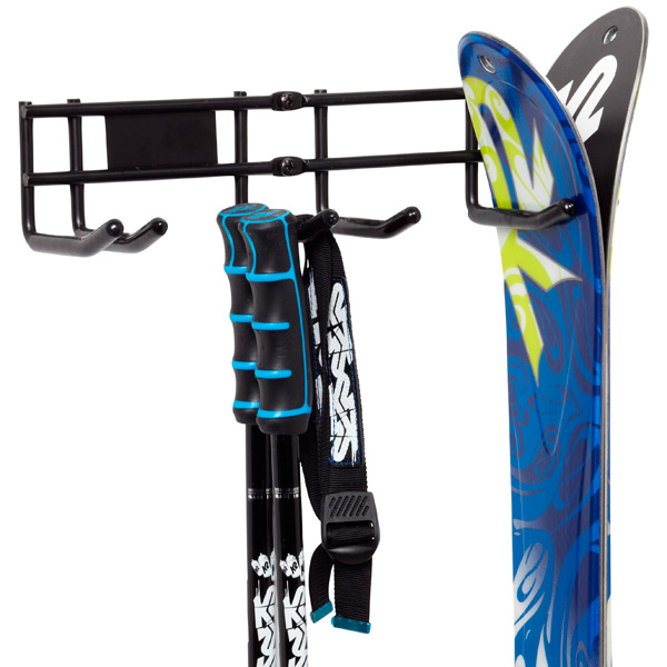 Double Ski Storage Rack The Container Store
