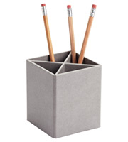Grey Stockholm Divided Pencil Cup