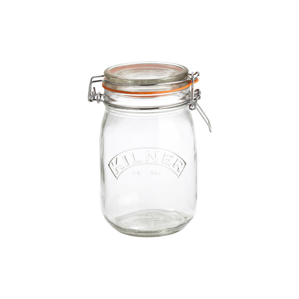34 oz. Round Hermetic Storage Jar 1 ltr.