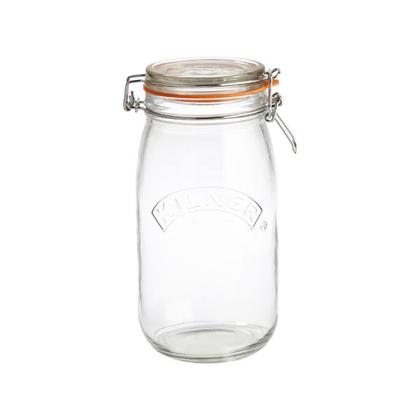 1.6 qt. Round Hermetic Storage Jar 1.5 ltr.