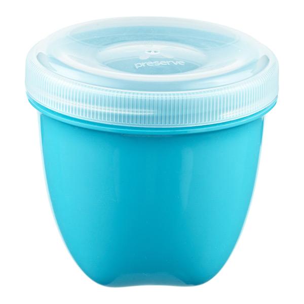 8 oz. Preserve Snack Container Aqua