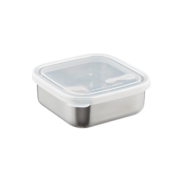 15 oz. Square-to-Go Container Stainless Steel