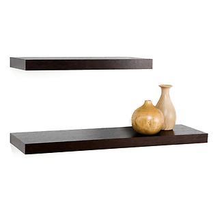 Java Mantel Floating Shelves