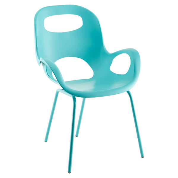 Umbra Surf Blue Oh Chair