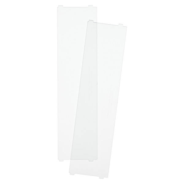 Like-it Bricks Wide Short Divider Translucent Pkg/2