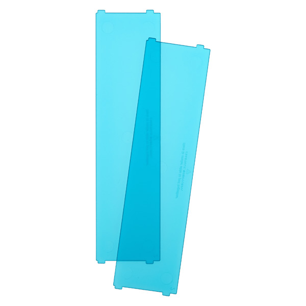Like-it Bricks Wide Short Divider Blue Pkg/2