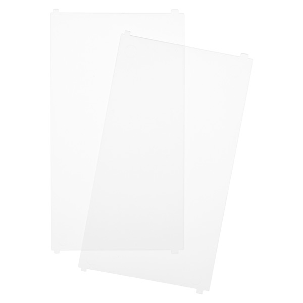 Like-it Bricks Wide Tall Divider Translucent Pkg/2