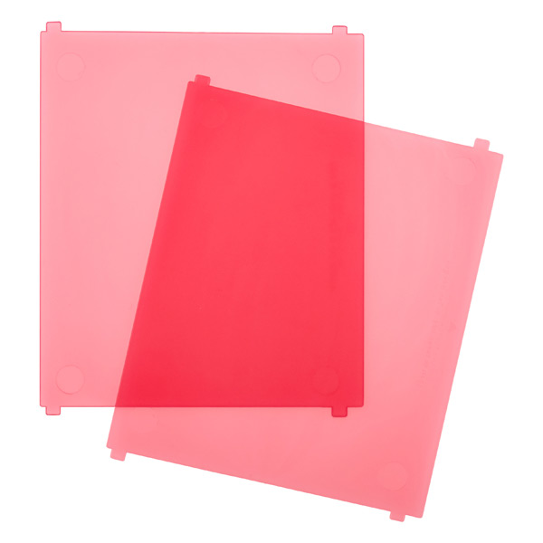 Like-it Bricks Medium Tall Divider Pink Pkg/2