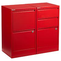 Red File Cabinets