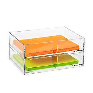 Palaset Clear Stackable Letter Holder