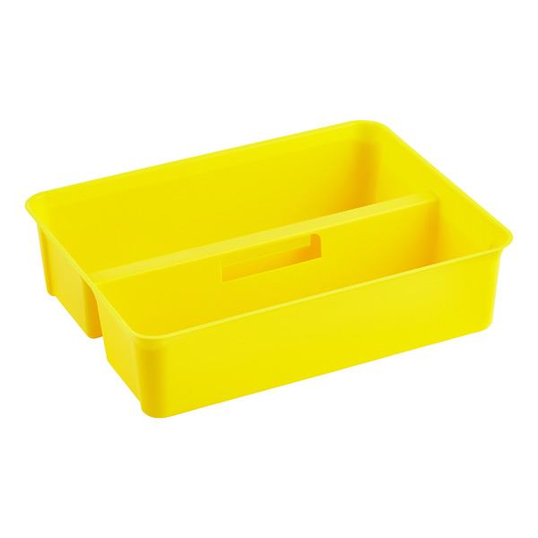 Colorwave Smart Store Handled Tray Yellow