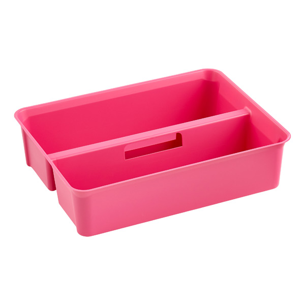 Colorwave SmartStore Handled Tray Pink