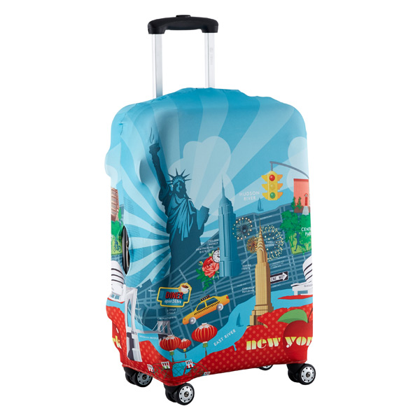 Urban New York Luggage Cover