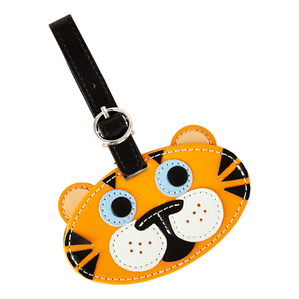 Critter Luggage Tag Tiger