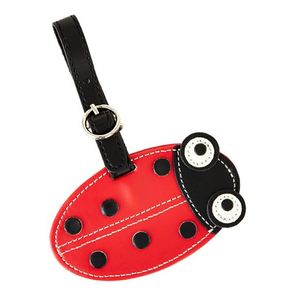 Critter Luggage Tag Ladybug