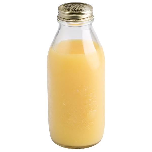 34 oz. Quattro Stagioni Glass Bottle