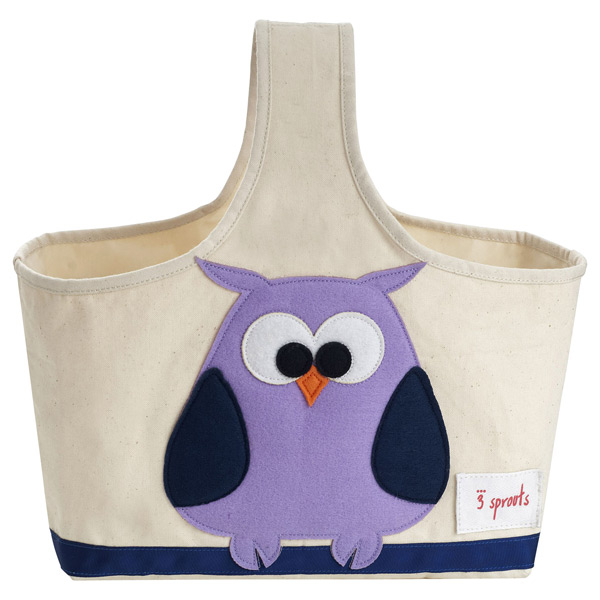 Owl Storage Caddy by 3 Sprouts