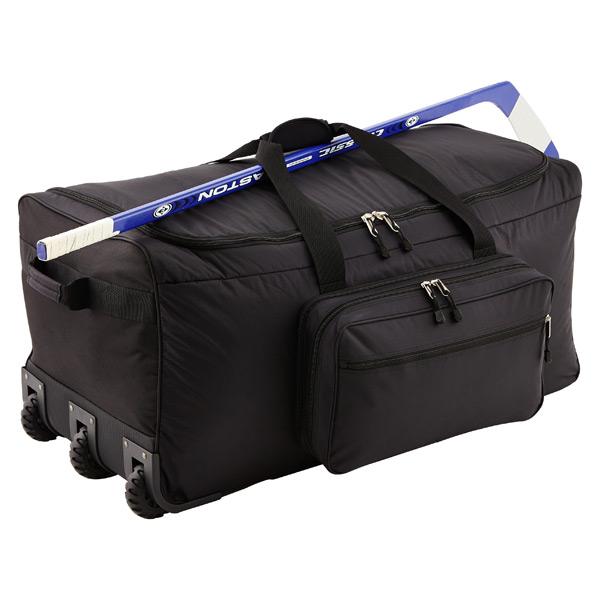 "Black 36"" Rolling Gear Bag"