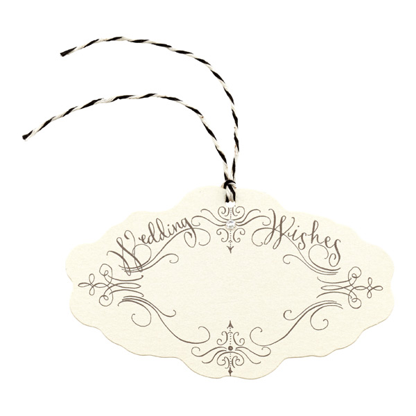 Wedding Wishes Gift Tags