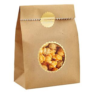 Kraft Treat Bags with Foil Seals