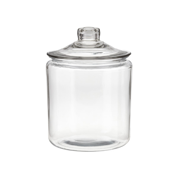 anchor 1 gal. Glass Canister Glass Lid