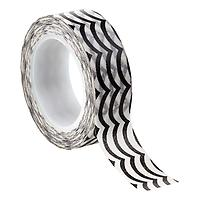 Black Waves Decorative Tape
