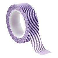 Purple Diagonal Stripe Decorative Tape