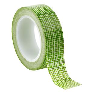 Green Grid Washi Paper Tape