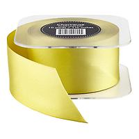 Chartreuse Double Satin Ribbon