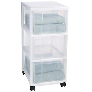 Plastic Storage Drawers For Clothes The Container Store