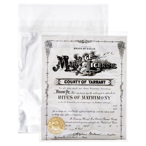 Acid-Free Resealable Bags Pkg/25